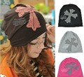 2014 Fashion Women's Hat Hip Hop Cross Beanie Hat Skull Cap Ski Knit Winter Hat 18974