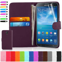 Flip Wallet Leather Case Cover For Samsung Galaxy Mega 6.3 i9200