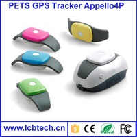 2015 New arrival Mini pet gps tracker for dog/cat Appello 4P Waterproof Tracking with High quality