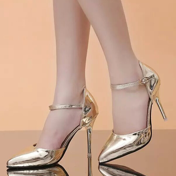 d20518f 2016 summer new ladies fashion high heel shoes for women