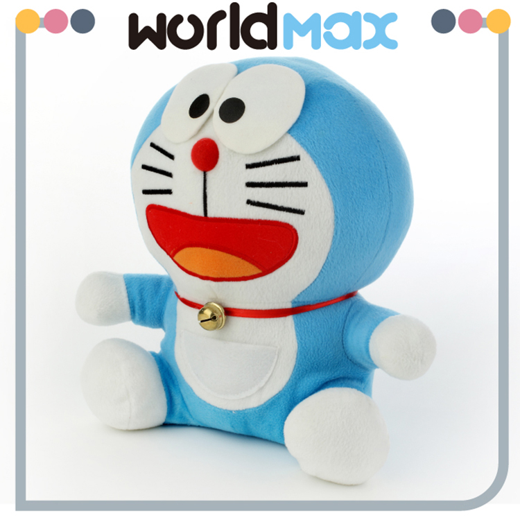 Festival Gift Graceful Soft Happy Doraemon Custom Baby Plush Toy