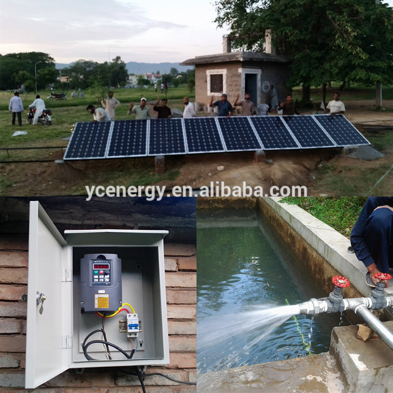 Triple/ single/ multiple solar pump controller