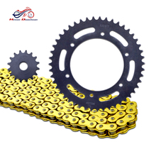 material motorcycle chain and sprocket kits for yamaha F650
