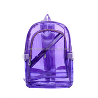 transparent pvc backpack fashionable backpacks for girls
