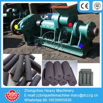 ISO standard 300 charcoal rods making machine In India