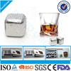 Certified Top Supplier Wholesale Custom Wine Accessories Wine Tools Reusable Metal Ice Cubes