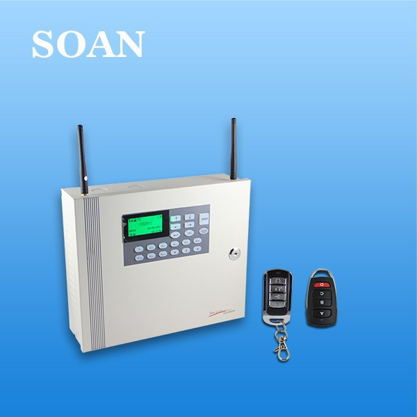 Industrial Metal Case Wireless GSM PSTN Dual Network Wireless Home Burglar Security Alarm System with OEM/ODM Customized and CE