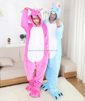 Top quality factory price Flannel animal pijamas onesie animal lady pijama