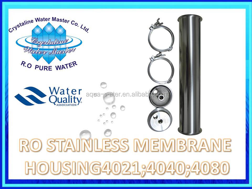 RO Stainless steel membrane housing for 4021 4040 4080