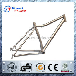 MTB titanium bike frame Super light hot sales