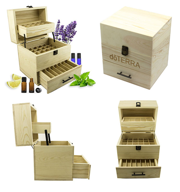 3 tiers essential oil box 59bottles