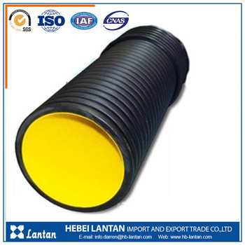 best price high quality hdpe corrugated fluid pipe