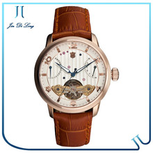 High Quality Best Luxury Watches Men 2014 Tourbillon Skeleton Automatic men watch 2014
