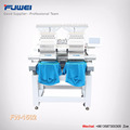 Fuwei hot sale double heads computerized embroidery machine with dahao system for cap and flat
