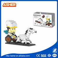 China Hero Discount Kids Bricks Intellect Plastic Connecting Small Blocks Toys
