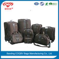 High quality cheap suitcases nylon lugage bag travel trolley luggage