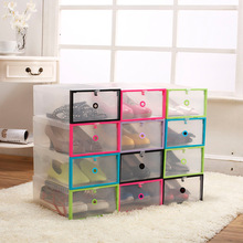 Hot Selling Cheap Stack-able Eco Friendly Clear Plastic Shoe Box