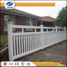 Plastic Wood color Fencing