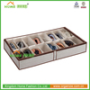 Non-woven Folding Underbed Shoes Storage Box with window