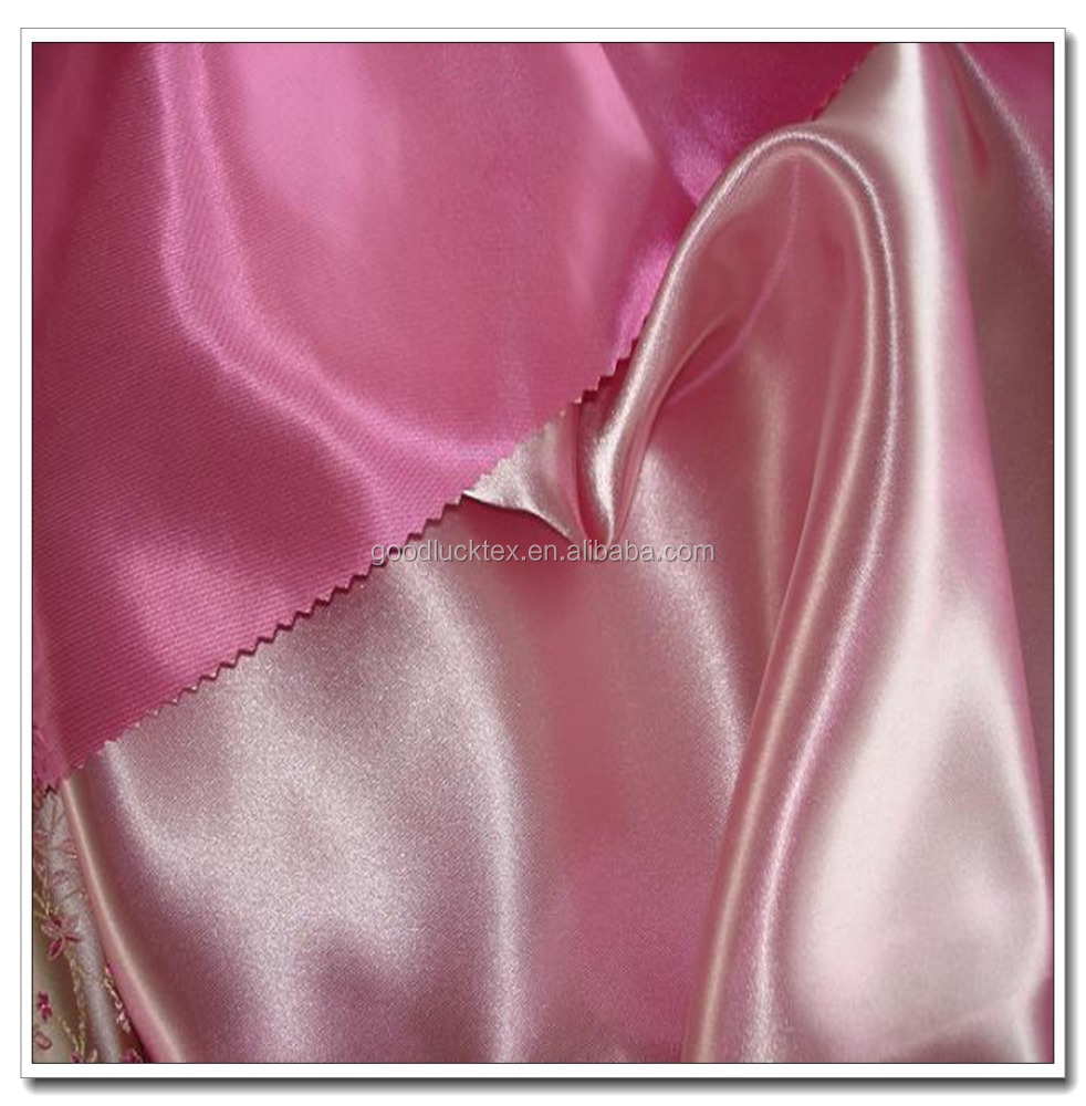 75D*100D DTY 100 poly satin for upholetery