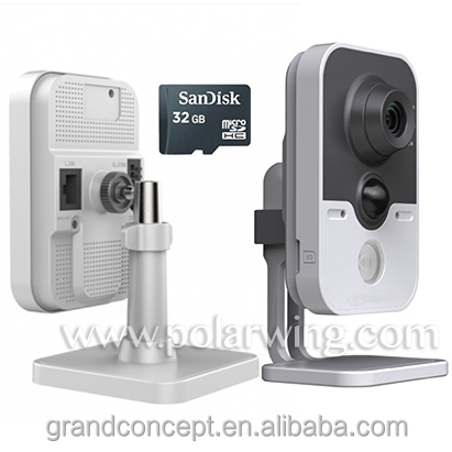 New design 3.0MP cube ip camera IR Cube Network Camera wireless 1080p hd ip cctv security camera made in China