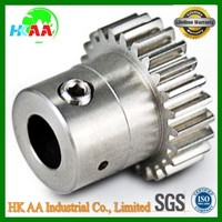 Custom stainless steel driving cluster gears, TS16949 approved transmission cluster gears for car / truck