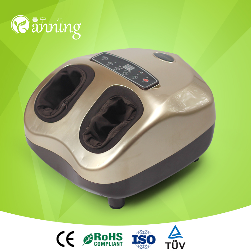 Wonderful blood circulating infrared reflexology foot massager,blood circulating massager machine,china foot detox machine