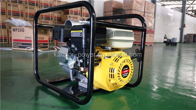 2inches 4-stroke 2.4HP-9HP gasoline powered water pump