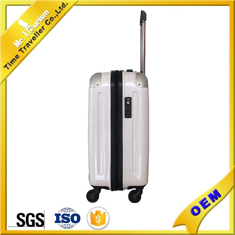 factory price travel abs+PC trolley luggage