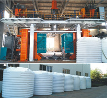 10000L Series Blow Molding Machine For Plastic Tank
