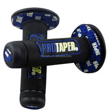 Hot sale 7/8'' Blue black protaper hand grips for pit bike/dirt bik/motorcycle
