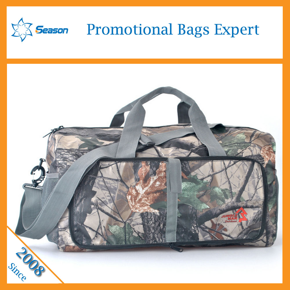 Wholesale trolley travel bag school waterproof zippered pockets Duffel Bag