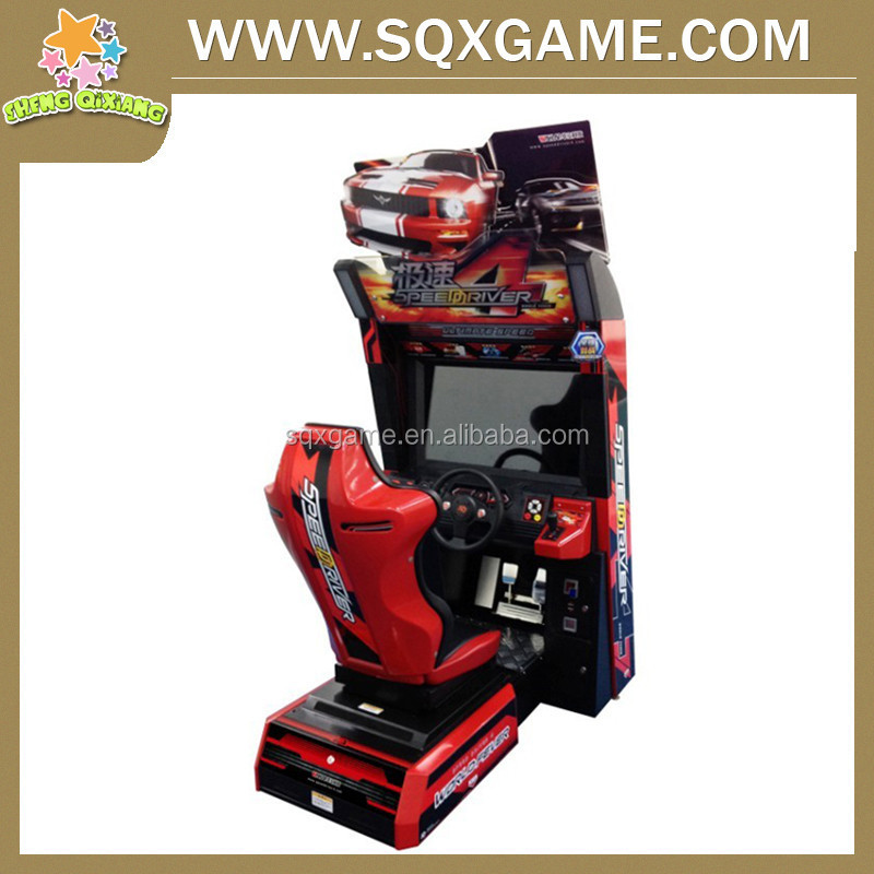 Solomon Is indoor outrun simulation car racing game machine with high quality