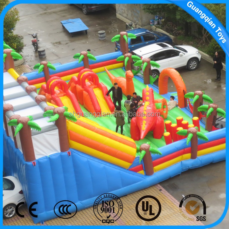 Guangqian New Style Big Forest Bouncing Castle Inflatable,OEM Or ODM Are Welcome