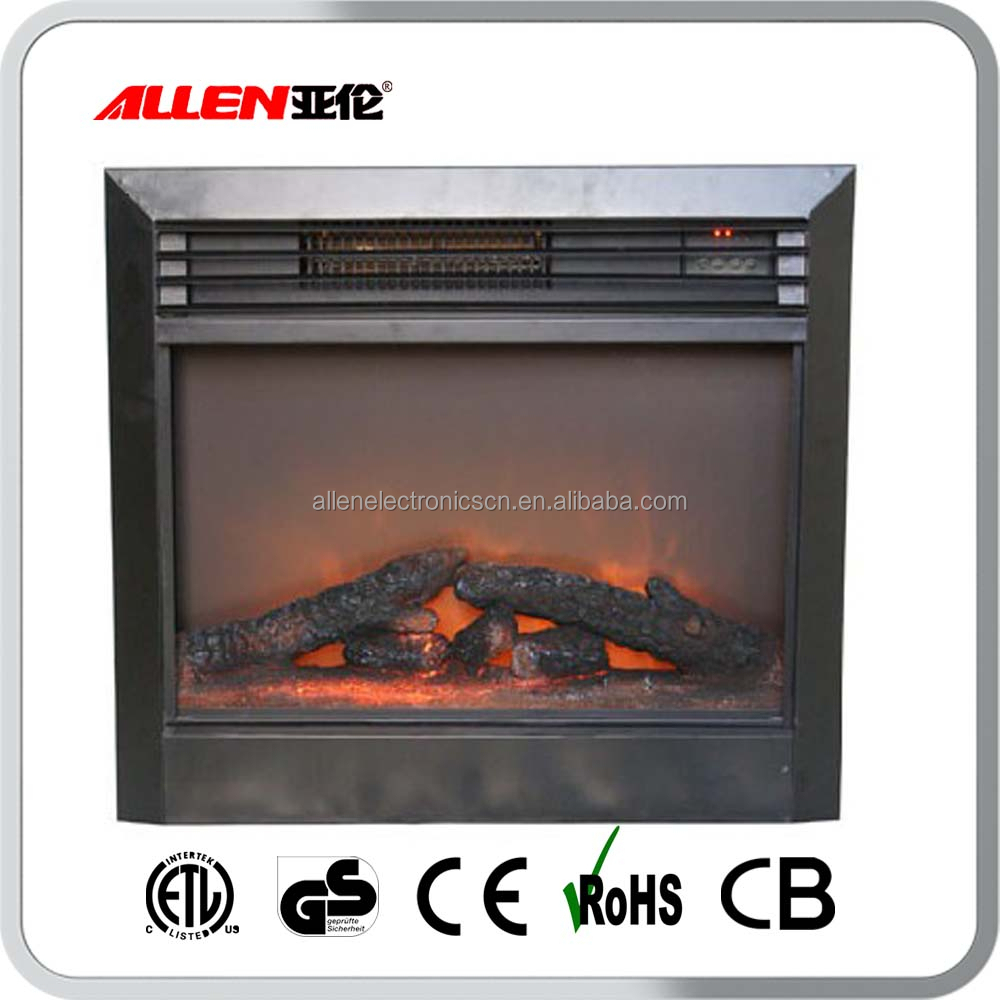 Built-In Wholesale 220V Electric Fireplace Insert Heater with Most Realistic Flame