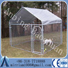 Hot Sale high quality big cheap chain link dog kennels/ Galvanized Steel Outdoor Dog Kennel