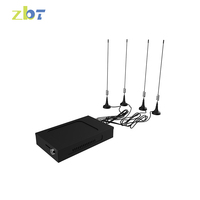 2.4G car bus wifi 4G LTE router 30 users supported with Frequency Customizable
