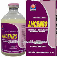 Veterinary Injection Medicine: Amoxycillin + Enrofloxacin