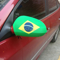 2016 Euro Cup Brazil flag car mirror cover