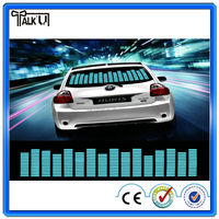Hot luminous sound music activated equalizer car sticker for sale, Glow In The Dark Car Music Rhythm Lamp