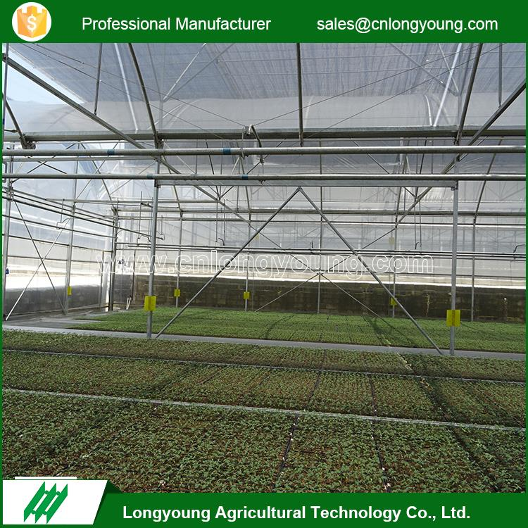 Multi purpose modern appearance easy assembly agricultural plastic greenhouse