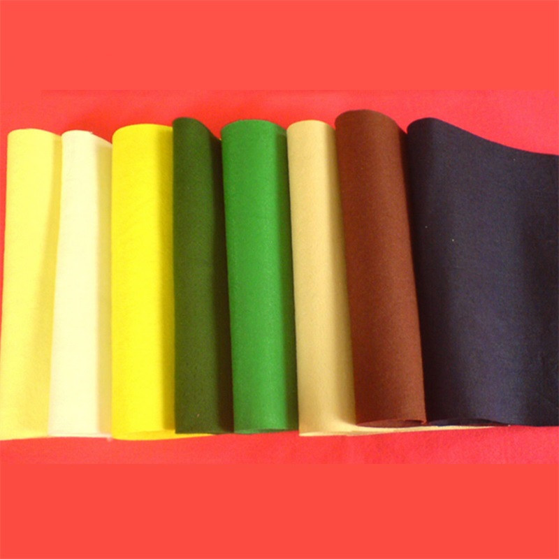 Factory supply needle punched synthetic industrial polyester felt