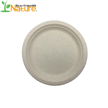 9 inch Best Selling Products Biodegradable Compostable Wheat Straw Disposable Plates  sc 1 st  Anhui Nature Imp. u0026 Exp. Co. Ltd. & 9 inch Best Selling Products Biodegradable Compostable Wheat Straw ...