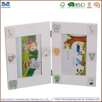 Factory supplier promotion wooden lovely photo frame ,wood imikimi photo frame