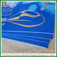 Good service do Outdoor Advertising PVC foam Board Signs