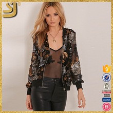 Hot selling high fashion Apparel custom bomber jassen
