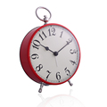 China factory for cheaper Retro clocks 12.5x16x5.6cm