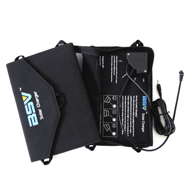 14W Foldable Solar Charge Package Without Battery