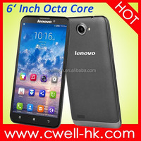 Hot Sale Original Lenovo S939 Mobile Phone Octa Core 6 inch 3G 1GB RAM 8GB Android 4.2 1280x720 Phone S939 8MP Camera Lenovo GPS