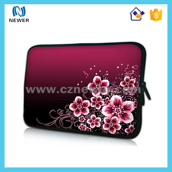 Fashion neoprene tablet sleeve 10.1